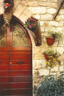 Spello Doorway